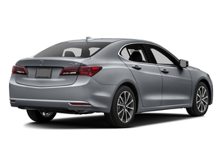 Slate Silver Metallic 2016 Acura TLX Pictures TLX Sedan 4D Technology V6 photos rear view