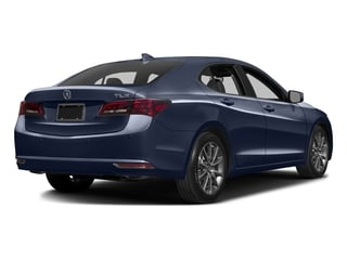 Fathom Blue Pearl 2016 Acura TLX Pictures TLX Sedan 4D Advance V6 photos rear view