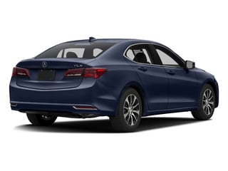 Fathom Blue Pearl 2016 Acura TLX Pictures TLX Sedan 4D I4 photos rear view