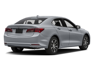 Slate Silver Metallic 2016 Acura TLX Pictures TLX Sedan 4D I4 photos rear view
