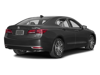 Graphite Luster Metallic 2016 Acura TLX Pictures TLX Sedan 4D Technology I4 photos rear view