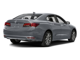 Slate Silver Metallic 2016 Acura TLX Pictures TLX Sedan 4D V6 photos rear view
