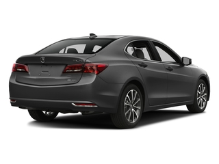 Graphite Luster Metallic 2016 Acura TLX Pictures TLX Sedan 4D Technology AWD V6 photos rear view