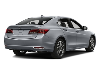 Slate Silver Metallic 2016 Acura TLX Pictures TLX Sedan 4D Technology AWD V6 photos rear view