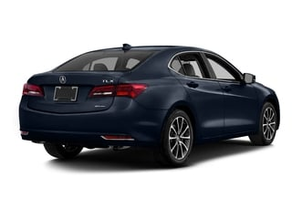 Fathom Blue Pearl 2016 Acura TLX Pictures TLX Sedan 4D Advance AWD V6 photos rear view