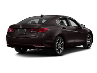 Black Copper Pearl 2016 Acura TLX Pictures TLX Sedan 4D Advance AWD V6 photos rear view