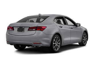 Slate Silver Metallic 2016 Acura TLX Pictures TLX Sedan 4D Advance AWD V6 photos rear view