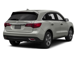 Lunar Silver Metallic 2016 Acura MDX Pictures MDX Utility 4D AWD V6 photos rear view