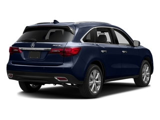 Fathom Blue Pearl 2016 Acura MDX Pictures MDX Utility 4D Advance 2WD V6 photos rear view