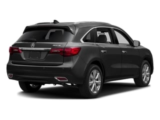 Graphite Luster Metallic 2016 Acura MDX Pictures MDX Utility 4D Advance 2WD V6 photos rear view