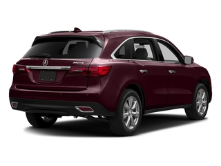 Dark Cherry Pearl 2016 Acura MDX Pictures MDX Utility 4D Advance 2WD V6 photos rear view