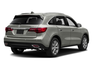Lunar Silver Metallic 2016 Acura MDX Pictures MDX Utility 4D Advance 2WD V6 photos rear view