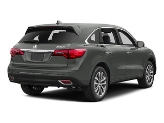 Forest Mist Metallic 2016 Acura MDX Pictures MDX Utility 4D Technology 2WD V6 photos rear view