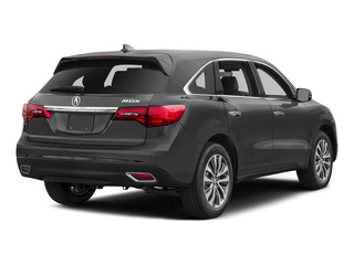 Graphite Luster Metallic 2016 Acura MDX Pictures MDX Utility 4D Technology 2WD V6 photos rear view
