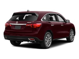 Dark Cherry Pearl 2016 Acura MDX Pictures MDX Utility 4D Technology 2WD V6 photos rear view