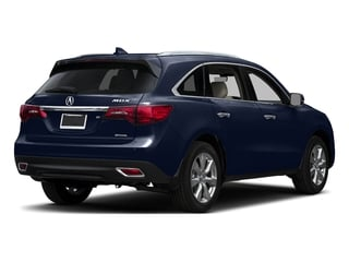 Fathom Blue Pearl 2016 Acura MDX Pictures MDX Utility 4D Advance AWD V6 photos rear view