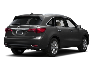 Graphite Luster Metallic 2016 Acura MDX Pictures MDX Utility 4D Advance AWD V6 photos rear view