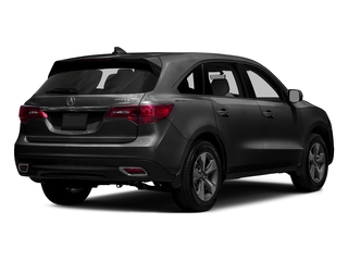 Graphite Luster Metallic 2016 Acura MDX Pictures MDX Utility 4D 2WD V6 photos rear view