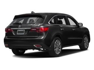 Crystal Black Pearl 2016 Acura MDX Pictures MDX Utility 4D Technology DVD 2WD V6 photos rear view