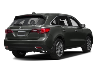 Forest Mist Metallic 2016 Acura MDX Pictures MDX Utility 4D Technology DVD 2WD V6 photos rear view
