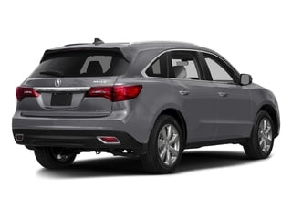 Lunar Silver Metallic 2016 Acura MDX Pictures MDX Utility 4D Advance DVD 2WD V6 photos rear view