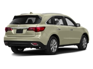 White Diamond Pearl 2016 Acura MDX Pictures MDX Utility 4D Advance DVD 2WD V6 photos rear view