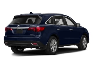 Fathom Blue Pearl 2016 Acura MDX Pictures MDX Utility 4D Advance DVD AWD V6 photos rear view