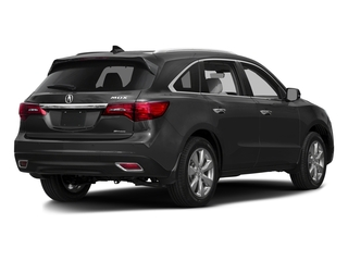 Graphite Luster Metallic 2016 Acura MDX Pictures MDX Utility 4D Advance DVD AWD V6 photos rear view