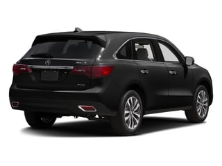Crystal Black Pearl 2016 Acura MDX Pictures MDX Utility 4D Technology AWD V6 photos rear view