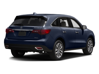 Fathom Blue Pearl 2016 Acura MDX Pictures MDX Utility 4D Technology AWD V6 photos rear view
