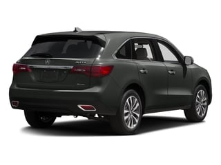 Forest Mist Metallic 2016 Acura MDX Pictures MDX Utility 4D Technology AWD V6 photos rear view