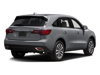 Lunar Silver Metallic 2016 Acura MDX Pictures MDX Utility 4D Technology AWD V6 photos rear view