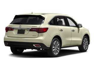 White Diamond Pearl 2016 Acura MDX Pictures MDX Utility 4D Technology AWD V6 photos rear view