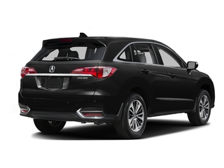 Crystal Black Pearl 2016 Acura RDX Pictures RDX Utility 4D Advance 2WD V6 photos rear view
