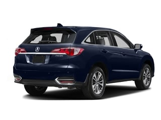 Fathom Blue Pearl 2016 Acura RDX Pictures RDX Utility 4D Advance 2WD V6 photos rear view