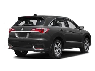 Graphite Luster Metallic 2016 Acura RDX Pictures RDX Utility 4D Advance 2WD V6 photos rear view