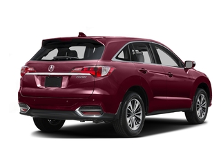 Basque Red Pearl II 2016 Acura RDX Pictures RDX Utility 4D Advance 2WD V6 photos rear view