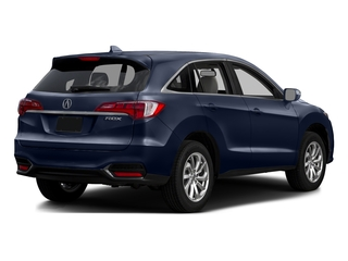 Fathom Blue Pearl 2016 Acura RDX Pictures RDX Utility 4D Technology 2WD V6 photos rear view