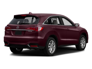 Basque Red Pearl II 2016 Acura RDX Pictures RDX Utility 4D Technology 2WD V6 photos rear view