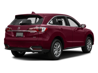 Basque Red Pearl II 2016 Acura RDX Pictures RDX Utility 4D AWD V6 photos rear view