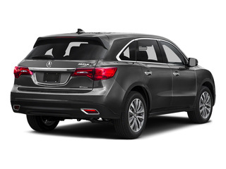 Graphite Luster Metallic 2016 Acura MDX Pictures MDX Utility 4D Technology DVD AWD V6 photos rear view