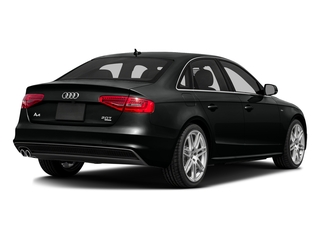 Mythos Black Metallic 2016 Audi A4 Pictures A4 Sedan 4D 2.0T Premium 2WD photos rear view