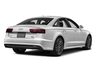 Glacier White Metallic 2016 Audi A6 Pictures A6 Sedan 4D 2.0T Premium Plus AWD photos rear view