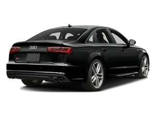 Mythos Black Metallic 2016 Audi S6 Pictures S6 Sedan 4D S6 Premium Plus AWD photos rear view