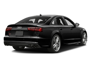 Brilliant Black 2016 Audi S6 Pictures S6 Sedan 4D S6 Premium Plus AWD photos rear view
