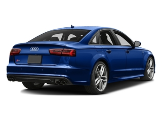 Sepang Blue Pearl Effect/Mugello Blue 2016 Audi S6 Pictures S6 Sedan 4D S6 Premium Plus AWD photos rear view