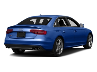 Sepang Blue Pearl Effect 2016 Audi S4 Pictures S4 Sedan 4D S4 Prestige AWD photos rear view