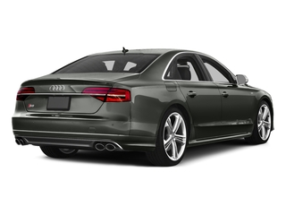 Daytona Gray Pearl Effect 2016 Audi S8 Pictures S8 Sedan 4D S8 AWD V8 Turbo photos rear view