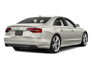 Ibis White 2016 Audi S8 Pictures S8 Sedan 4D S8 AWD V8 Turbo photos rear view