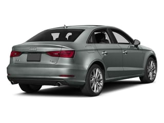 Monsoon Gray Metallic 2016 Audi A3 Pictures A3 Sedan 4D 1.8T Premium 2WD I4 Turbo photos rear view
